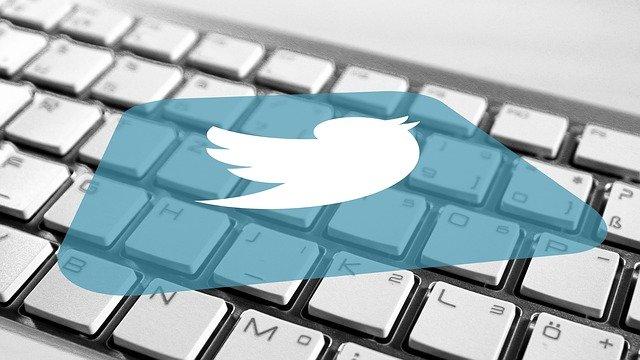 twitter a klávesnice