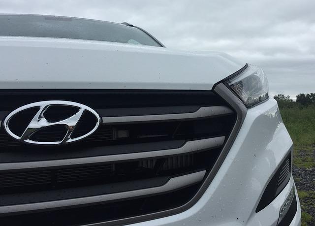 přední maska Hyundai