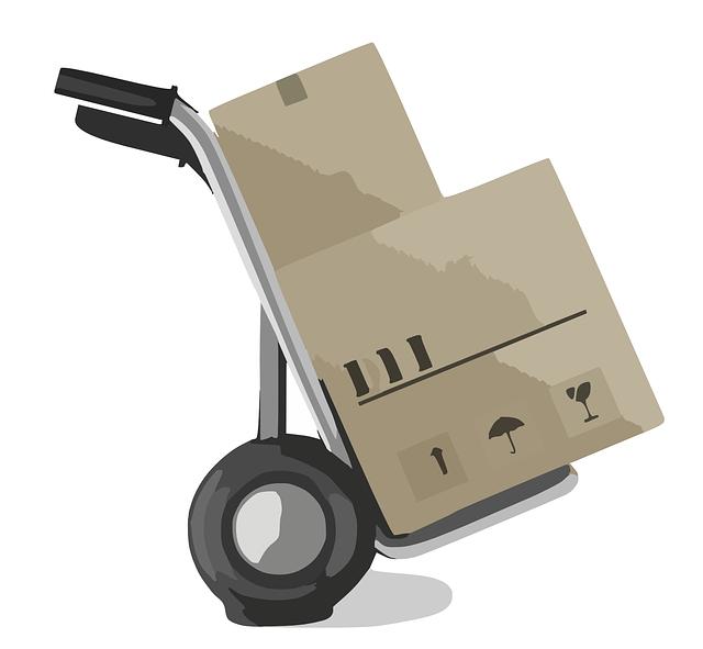 vozit krabice