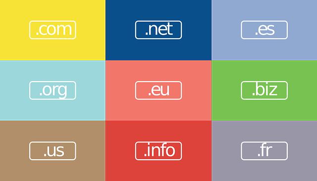 web doména