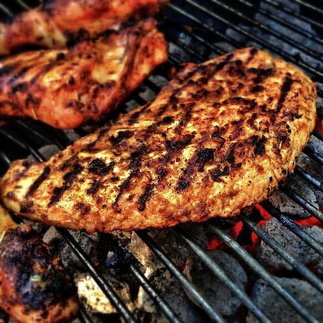 grilováné maso