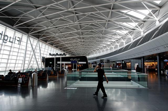 letištní hala
