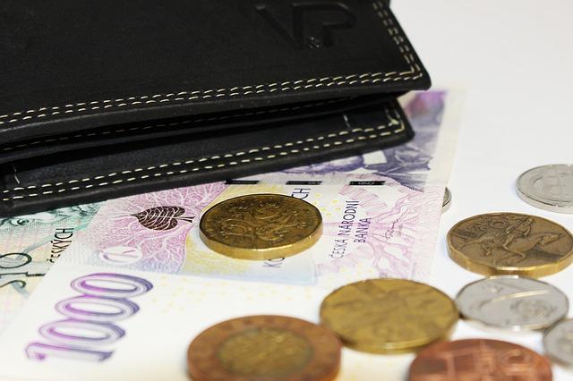 černá peněženka a české peníze.jpg