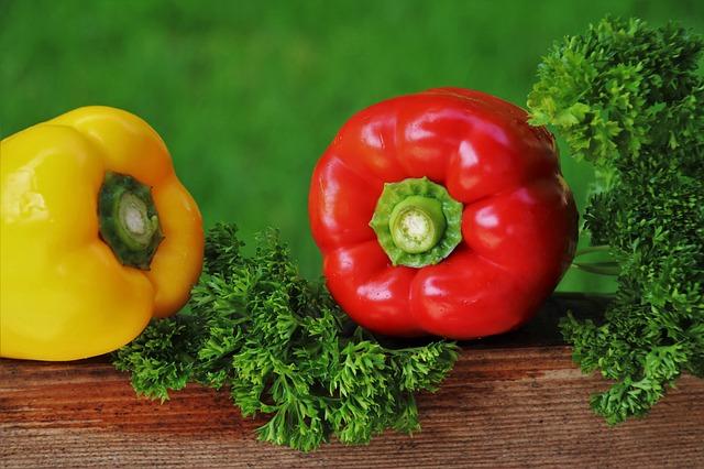 Zelenina k hubnutí patří