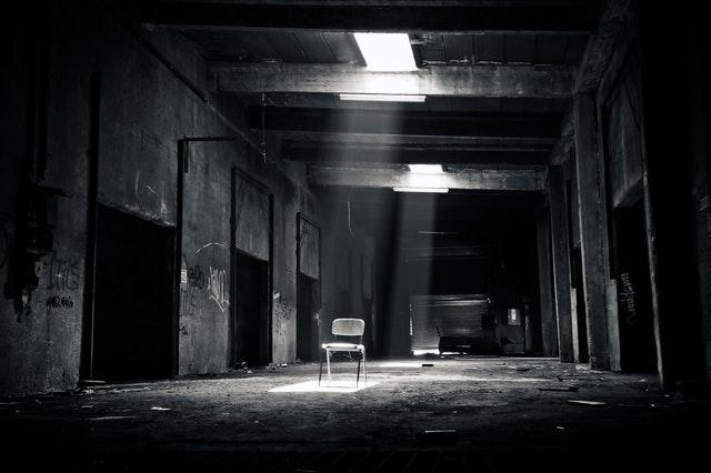 záhadné děsivé místo